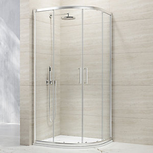 Nexa By Merlyn 8mm Quadrant 1 Door Sliding Shower Enclosure - 900 X 900mm