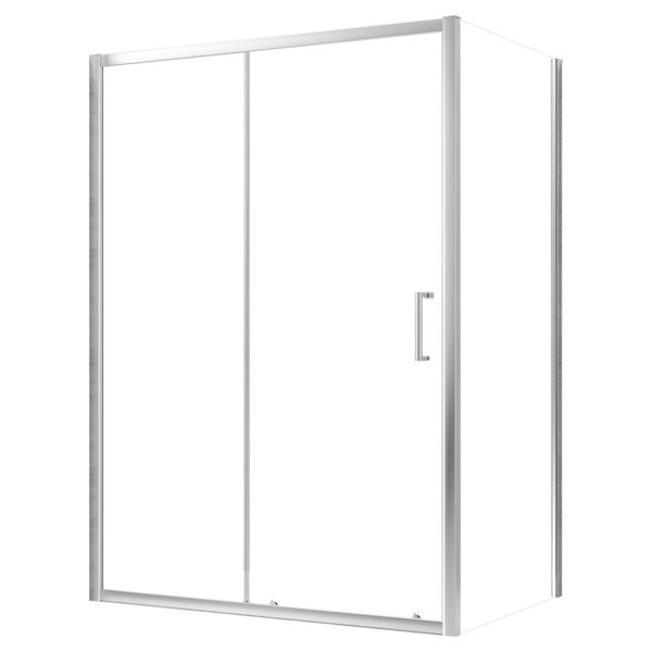 Nexa By Merlyn 8mm Chrome Framed  Sliding Shower Door Only - 1900 x 1200mm
