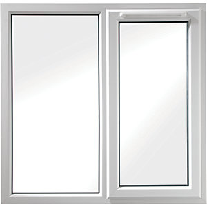 Euramax Bespoke uPVC A Rated FS Casement Window - White