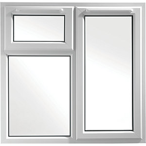 Euramax Bespoke uPVC A Rated TFS Casement Window - White