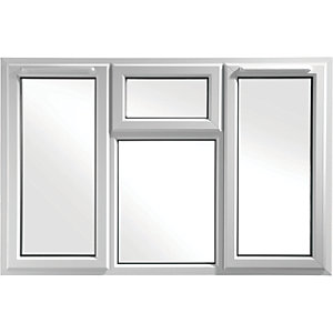 Euramax Bespoke uPVC A Rated STFS Casement Window - White