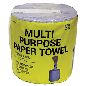 Image of Ap Multi Purpose Paper Towel Roll 500 Sheets