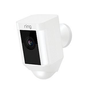 Ring Hardwired Spotlight Camera - White