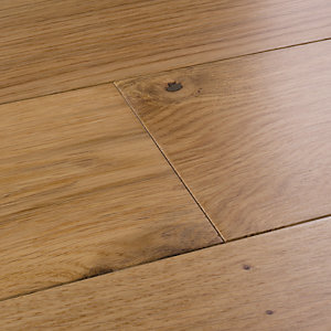 Image of Style American Light Oak Engineered Wood Flooring - 1.5m2 Pack