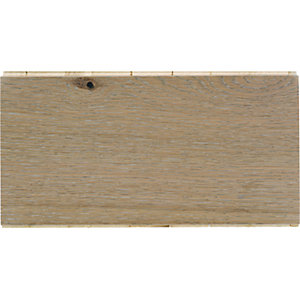 Style Beach Washed Oak Engineered Wood Flooring Sample