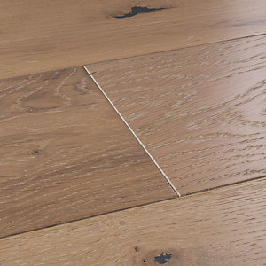 Style City Grey Oak Engineered Wood Flooring Sample