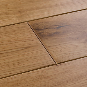 Image of Style Classic Light Oak Solid Wood Flooring Sample