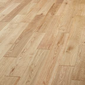 Style Country Light Oak Solid Wood Flooring 1 44m2 Pack