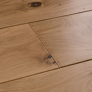 Image of Style Country Light Oak Solid Wood Flooring Sample