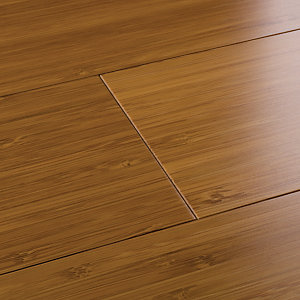 Image of Style Caramel Bamboo Flooring Sample