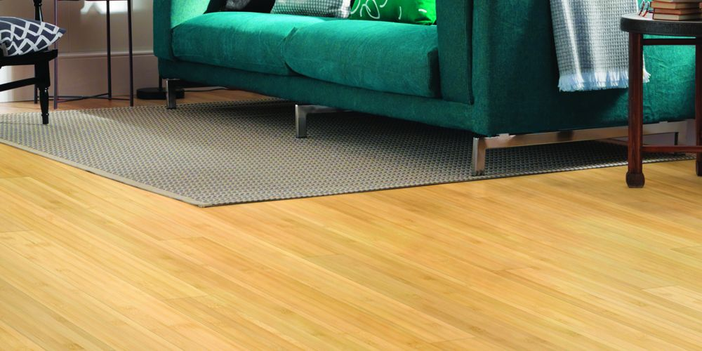 Blonde Bamboo Flooring
