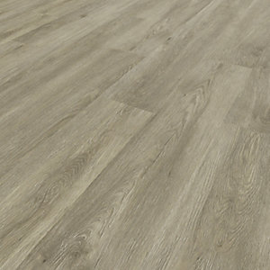 Image of Novocore Ascot Light Grey Oak Rigid Luxury Vinyl Flooring Tiles - 2.562m2 Pack