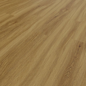 Image of Novocore Ascot Mid Oak Rigid Luxury Vinyl Flooring Tiles - 2.562m2 Pack