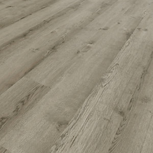 Novocore York Grey Luxury Vinyl Click Flooring - 3.29m2 pack