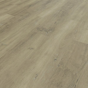 Image of Novocore Ascot Grey/Beige Oak Rigid Luxury Vinyl Flooring Tiles - 2.562m2 Pack