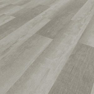Image of Novocore Ascot Distressed Grey/White Rigid Luxury Vinyl Flooring Tiles - 2.562m2 Pack