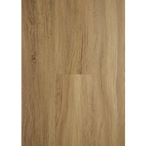 Novocore Mid Oak Luxury Vinyl Click Flooring Sample