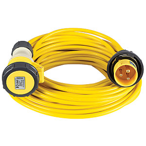 Image of Defender 110v 2.5mm 16A Extension Lead - 10m