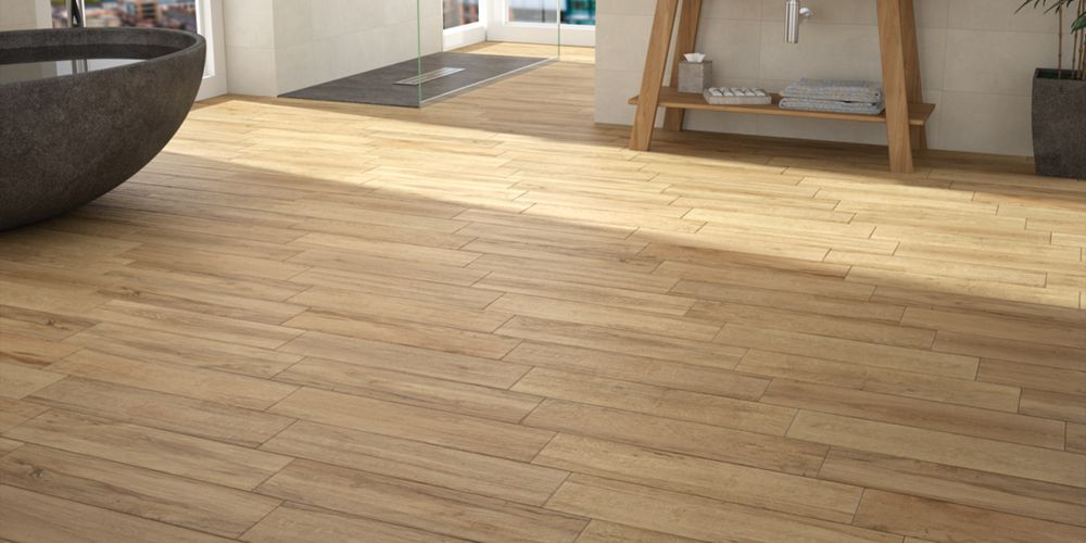 Mercia Oak Wood Effect Tiles