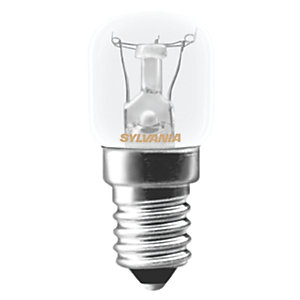 Sylvania Pygmy Incandescent Non Dimmable E14 Refrigerator Light Bulb - 15W