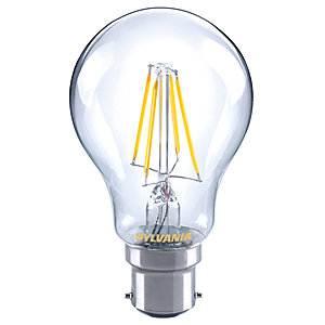 Sylvania LED GLS Dimmable Filament B22 Light Bulb - 7W