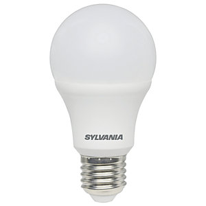 Sylvania LED GLS Non Dimmable Frosted E27 Light Bulbs - 8.5W Pack of 4