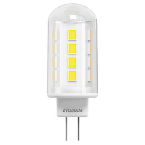 Sylvania LED Non Dimmable Capsule G4 Light Bulbs - 2.6W Pack of 4