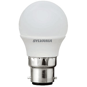 Sylvania LED Non Dimmable Frosted Mini Globe B22 Light Bulb - 3W