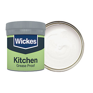 Wickes Pebble Grey - No. 425 Kitchen Matt Emulsion Paint Tester Pot - 50ml
