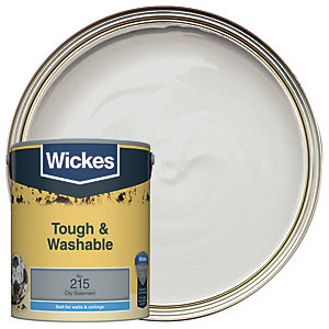 Wickes City Statement - No. 215 Tough & Washable Matt Emulsion Paint - 5L
