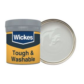 Wickes Nickel - No  205 Tough & Washable Matt Emulsion Paint Tester Pot -  50ml