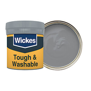 Wickes Slate - No. 235 Tough & Washable Matt Emulsion Paint Tester Pot - 50ml
