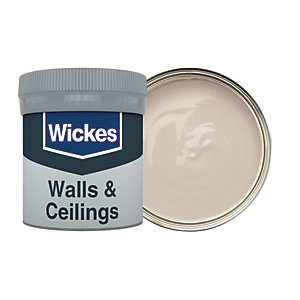Wickes Linen White - No. 105 Vinyl Matt Emulsion Paint Tester Pot - 50ml