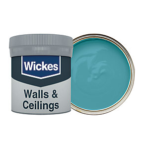Wickes Teal - No. 940 Vinyl Matt Emulsion Paint Tester Pot - 50ml