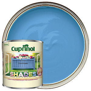 Cuprinol Garden Shades Matt Wood Treatment - Cornflower 1L