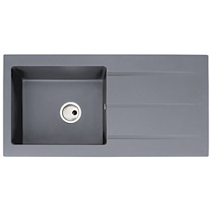 Zero 1 Bowl Granite Grey Sink