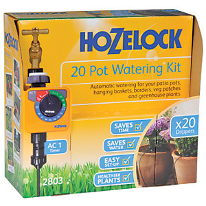 Image of Hozelock Automatic Watering Up To 20 Pot Kit