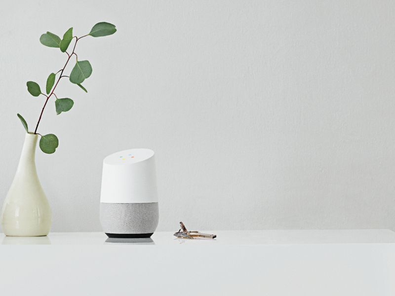 Google Home Assistant - White & Grey