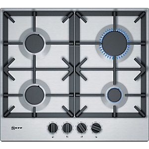 NEFF 60cm Gas Hob with Flameselect T26DS49N0