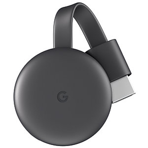 Image of Google Chromecast Wireless Streaming - Charcoal