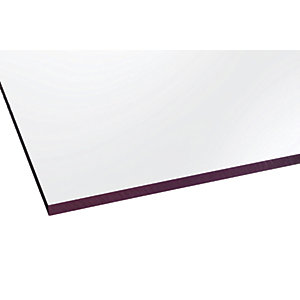 Marlon Fsx 6mm Solid Polycarbonate Clear Sheet 500 x 500mm
