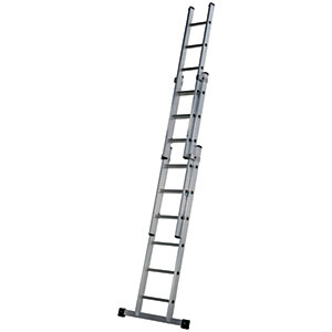 Werner Professional 3.96m 3 Section Aluminium Extension Ladder