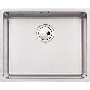 Abode Matrix 1 Bowl Large Stainless Steel Kitchen Sink