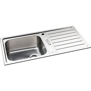 Neron 1 Bowl Stainless Steel Kitchen Sink