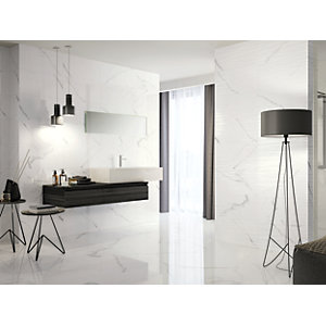 Boutique Palmas Gloss Structure Ceramic Wall Tile 600 x 300mm