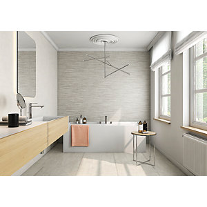 Boutique Vellore Snow Ceramic Wall Tile 850 x 280mm