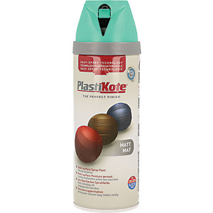 Plastikote Multi-surface Spray Paint - Matt Classic Teal 400ml