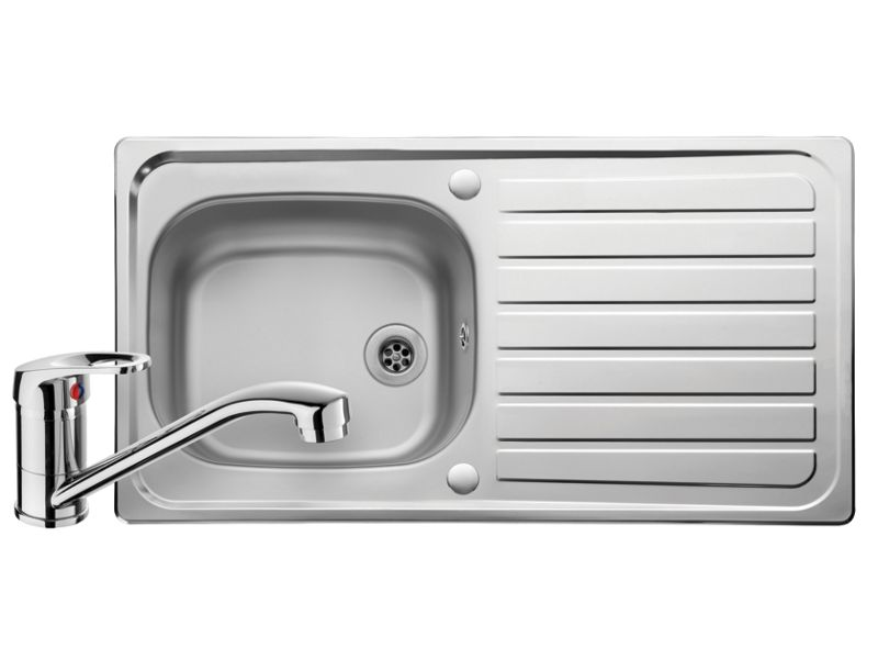 Leisure Linear Sink & Tap Pack