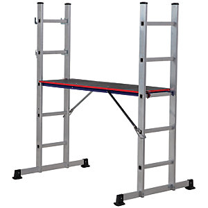 Werner 5 in 1 Aluminium Combination Ladder with Platform