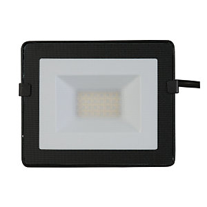 Luceco 20W Eco Floodlight IP65 Black 1600 Lumens